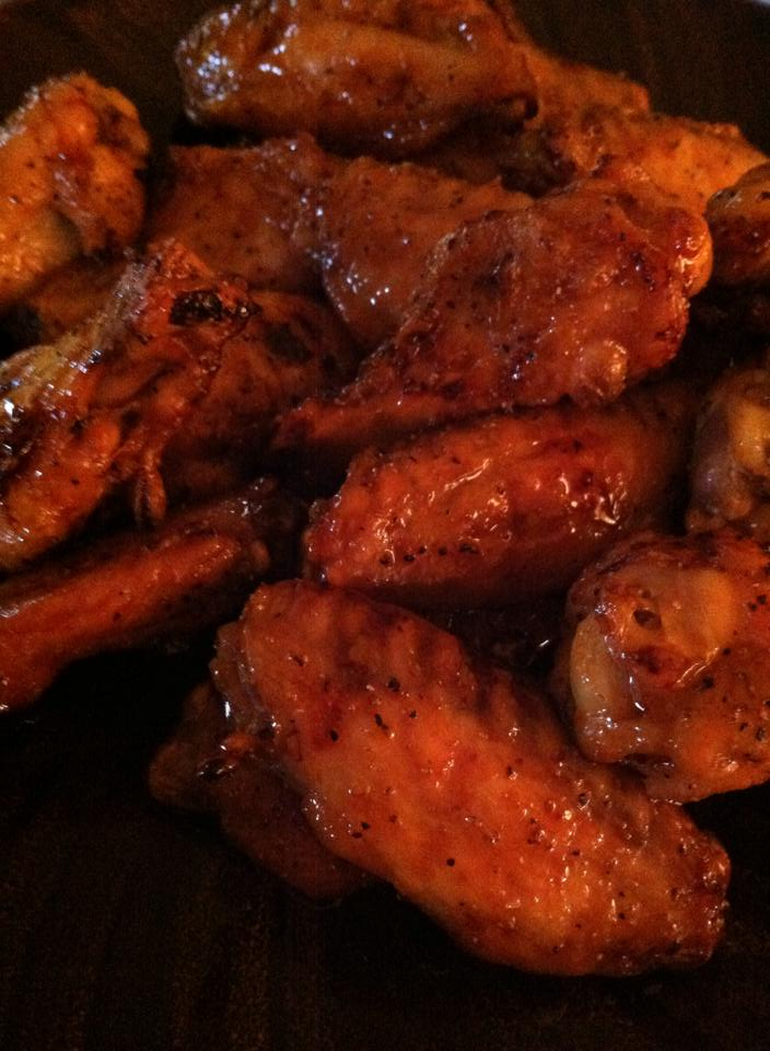Soy Ginger Chicken Wings